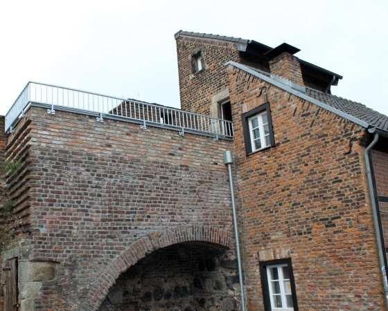 Dachterrasse Stadtmauer Zons