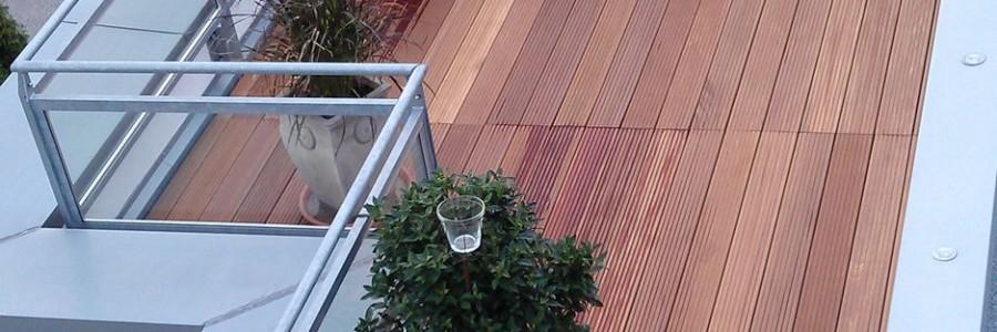 Dachterrasse Mehrfamilien-Wohnhaus