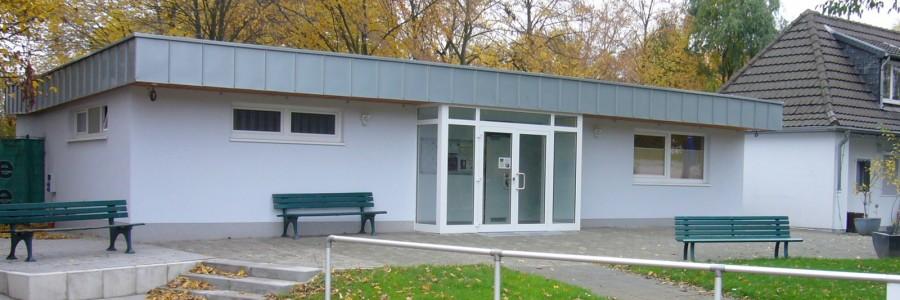 Sanierung Vereinsgebäude