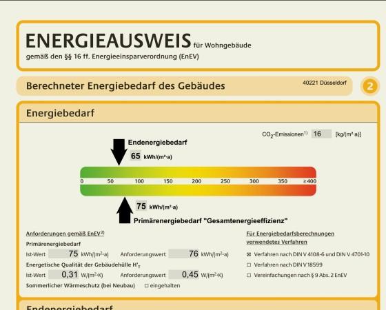Energie und Schallschutz