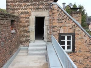 Zugang von der Wohnung im Wachturm